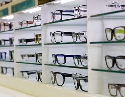 Wide variety of eyeglasses in Portland
